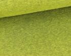 Kuschelsweat - Meliert - Uni - Gelbgrün