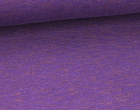Kuschelsweat - Meliert - Violett