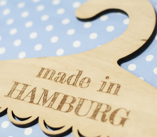 Kinderkleiderbügel - made in Hamburg