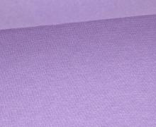 Glattes Bündchen - Uni - Schlauchware - Lavendel