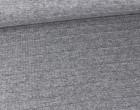Strickstoff - Fashionstoff - Streifen - Grau Meliert