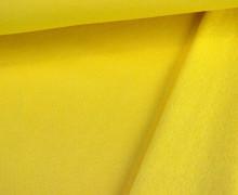 Kuschelsweat - Uni - 160cm - Gelb