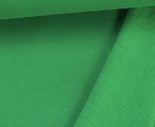 Kuschelsweat - Uni - 160cm - Grün