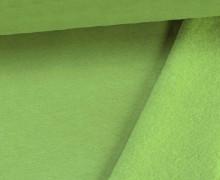 Kuschelsweat - Uni - 160cm - Maigrün