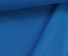 Kuschelsweat - Uni - 160cm - Blau