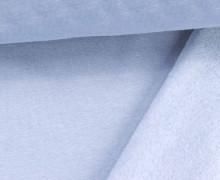 Kuschelsweat - Uni - 160cm - Babyblau