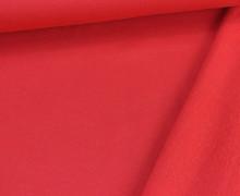Kuschelsweat - Uni - 160cm - Rot