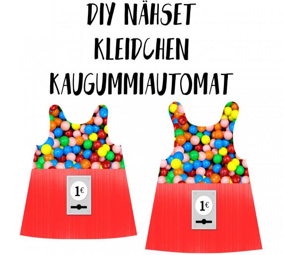 Diy Nahset Kleidchen Kaugummiautomat Jersey Fasching