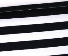 Sweat - Streifen - 23mm - Weiß/Schwarz