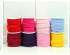 1 Meter elastisches Paspelband/Biesenband - Matt - Dunkelbraun