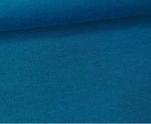 Jersey - Uni - ca. 150cm - Meerblau