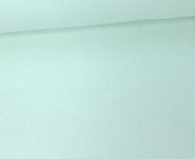 Jersey - Uni - ca. 150cm - Mintgrün