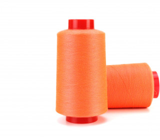 1 Rolle Overlockgarn - Kone - Orange (0015)