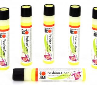 Textilmalfarbe - Marabu - Fashion-Liner - Zitron (020)