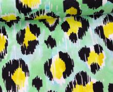 Stoff - Tropical Paradise - Leo- Josephine Kimberling - Grün