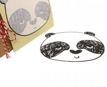 1 Bügelbild - Panda - Andrea Lauren - Aufbügler