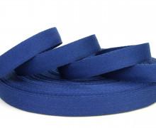 1 Meter Ripsband - Köperband - 14mm - Dunkelblau