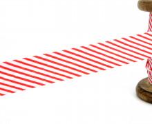 3m Schrägband - Streifen - Rot