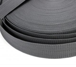 1 Meter Gurtband - Dunkelgrau (311) - 40mm