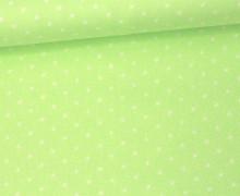 Javanaise - Blusenstoff - Punkte - 2mm -  Mintgrün
