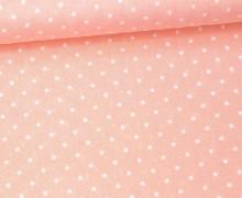 Javanaise - Blusenstoff - Punkte - 2mm -  Rosa