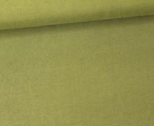 Javanaise - Blusenstoff - Uni -  Olive
