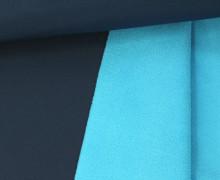 Softshell - Fleece - Uni - Dunkelblau
