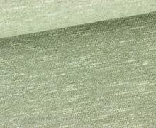 Fashionstoff - Elastisch - Uni - Olivgrün Meliert