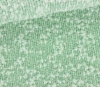 Strickstoff - Fashionstoff - Elastisch - Mintgrün Meliert