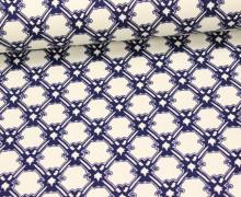 Fashionstoff - Barock - Ornamente - Beige