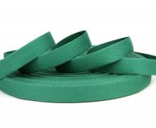 1 Meter Ripsband - Köperband - 14mm - Tannengrün