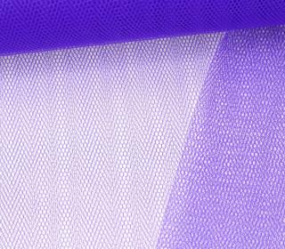 Tüllstoff - Nylon - 140 cm - Blaulila