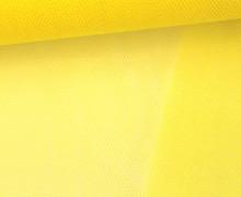 Tüllstoff - Nylon - 140 cm - Gelb