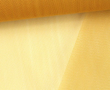 Tüllstoff - Nylon - 140 cm - Honiggelb