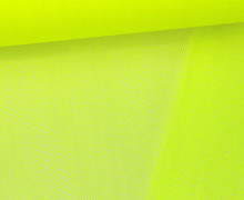 Tüllstoff - Nylon - 140 cm - Neongelb