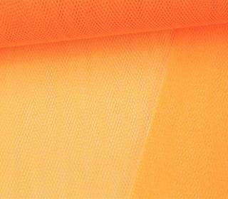 Tüllstoff - Nylon - 140 cm - Neonorange