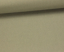 Canvas Stoff  - feste Baumwolle - Uni - 145cm - Khaki Grün