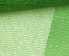 Tüllstoff - 145 cm - Dunkelgrün