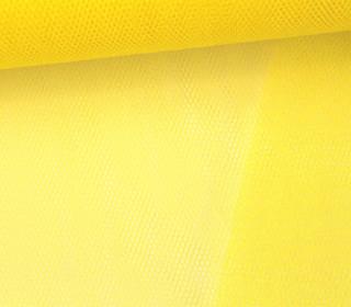 Tüllstoff - 145 cm - Gelb