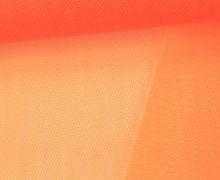 Tüllstoff - 145 cm - Neonpink/Orange