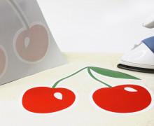 1 Bügelbild – Kirschen – Hamburger Liebe – Aufbügler – Wunschgeschenk