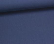 Baumwolle - Webware - Uni - 150cm - Dunkelblau