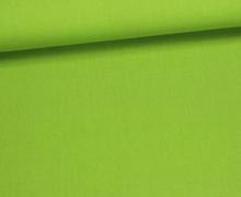Baumwolle - Webware - Uni - 150cm - Grün