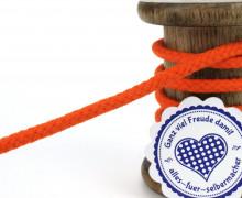 1m Hoodieband - Schmale Kordel - 5mm - Orange