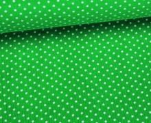 Cord - Babycord - Kleine Punkte - Grün