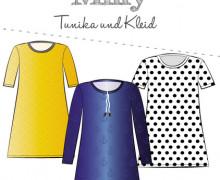 Schnittmuster - Milly - Tunika - Kleid - Damen - 32-58 - Fadenkäfer