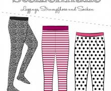 Schnittmuster - Stelzenhülle - Strumpfhose - Socken - Kinder - 50-176 - Fadenkäfer