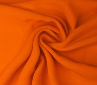 Feiner Chiffon - Kleiderstoff - Uni - Orange