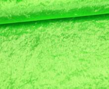 Samt - Pannesamt - uni - Grün