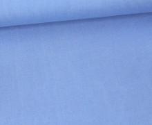 Blusenstoff - Javanaise - Uni - Blau